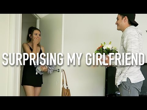 SURPRISING MY GIRLFRIEND IN AUSTRALIA