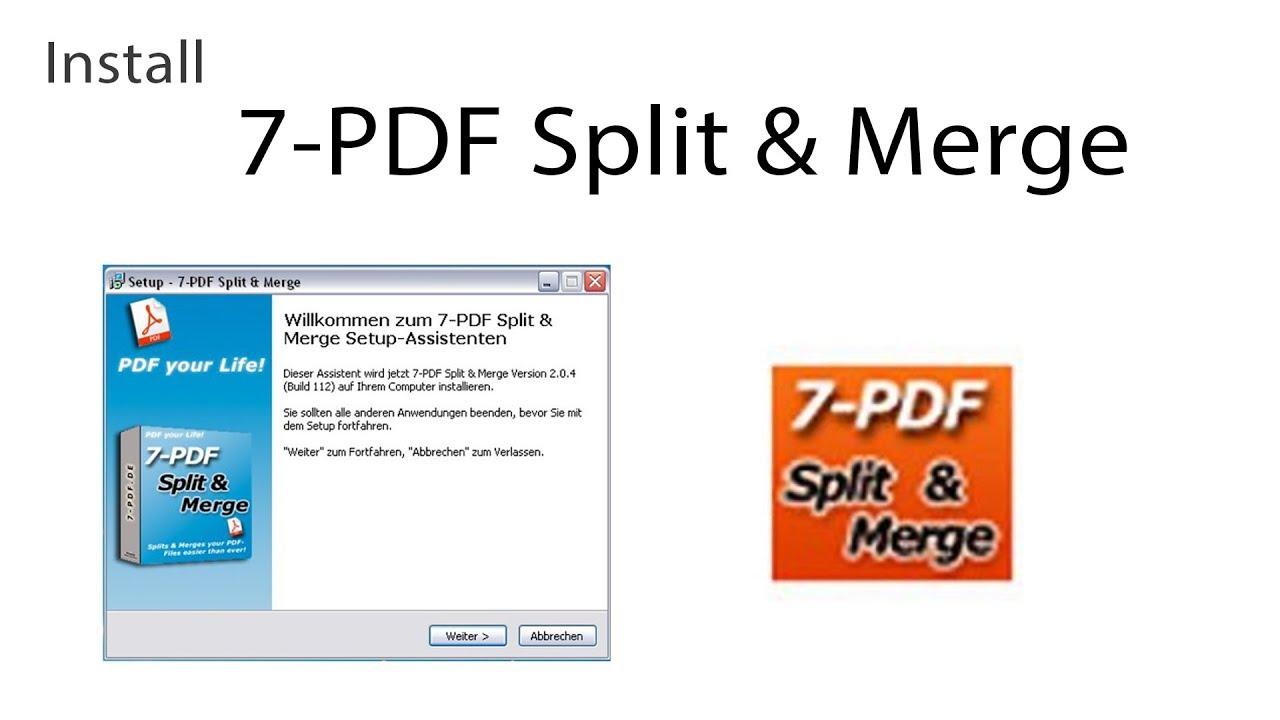 Resultado de imagen para 7-PDF Split and Merge