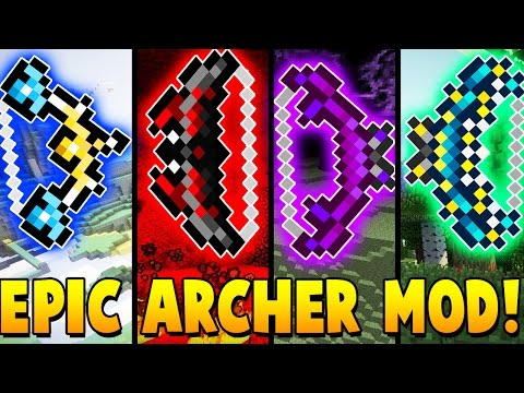 EPIC ARCHERGUN MOD CHALLENGE | Minecraft - Mod Battle