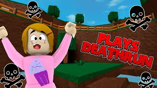 Roblox Deathrun Escape With Molly! - The Toy Heroes Games