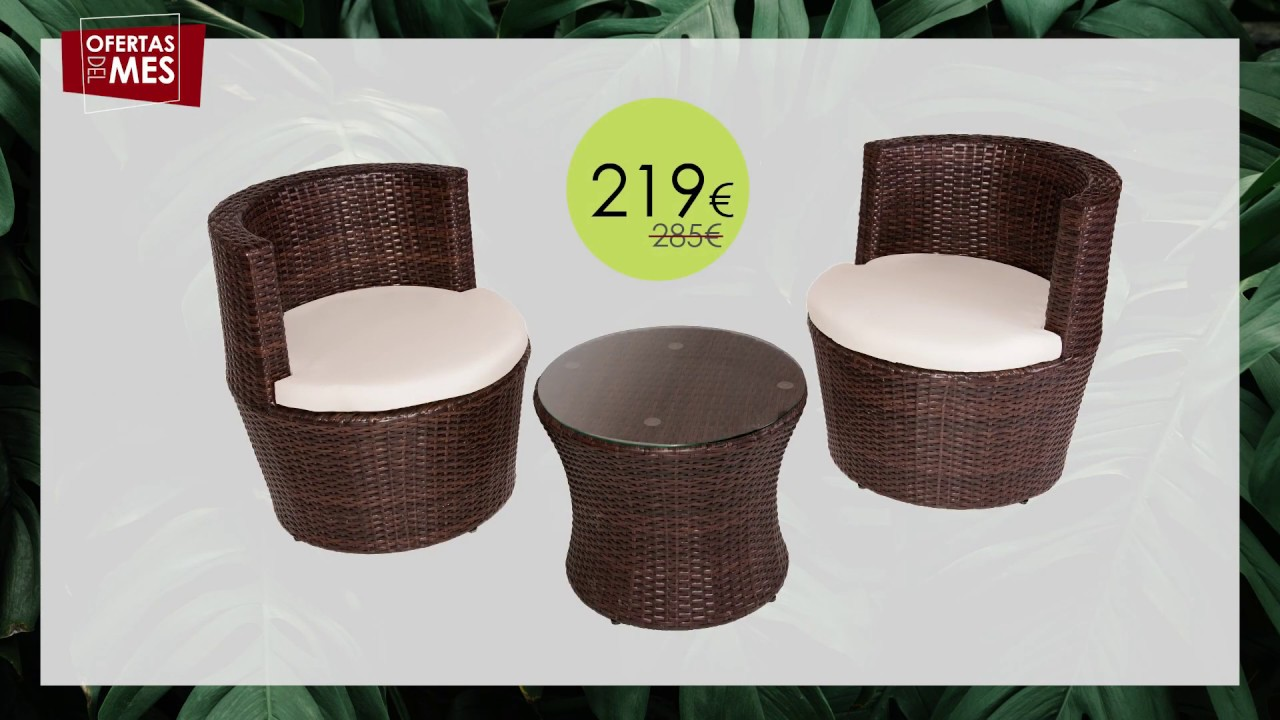 Oferta Abril Muebles De Jardín Terraza