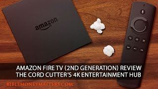 amazon fire tv 2nd generation review the cord cutters 4k entertainment hub
