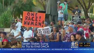 Several States Sue To End DACA Program