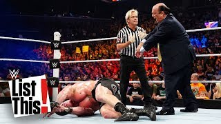 7 times referees failed: WWE List This!