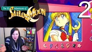 The 3D Adventures of Sailor Moon - Part 2