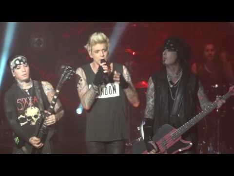 Sixx AM - Help is on the way - Worcester Palladium 4/25/15