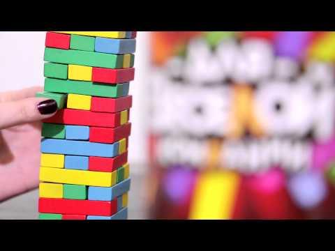 Пьяная башня Для веселой компании видеобзор игры