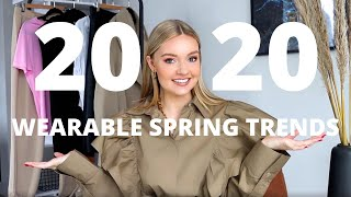SPRING TRENDS 2020 & HOW TO WEAR THEM!