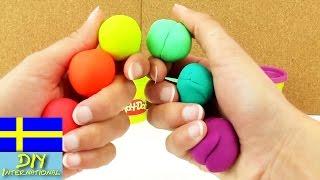Regnbåge ut av Play Doh lera   färgglad regnbåga ut av modellera
