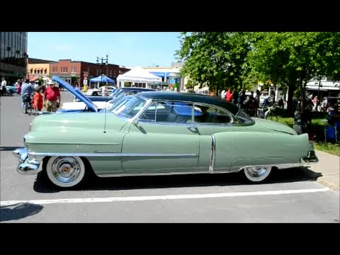 52 CADILLAC SERIES 62 COUPE DEVILLE - PERIOD CORRECT - YouTube