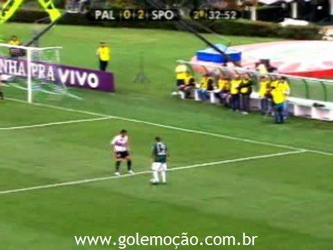 GOL Emoção: Palmeiras 2 x 2 São Paulo - Radio Bandeirantes - Brasileiro 2008 30ª rodada