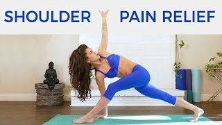 Yoga for Back Pain & Tense Shoulders, Intermediate, 40 Minutes Yoga with Julia, Stretch