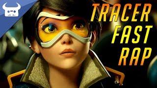 TRACER FAST RAP | Dan Bull & Elsie Lovelock (Overwatch Song)