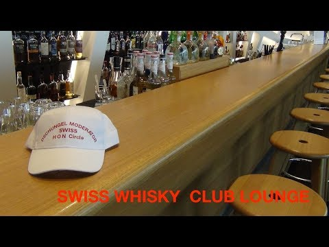 SWISS AIRLINES | NEW | WHISKY CLUB & BAR | SENATOR LOUNGE  | Airport Zürich