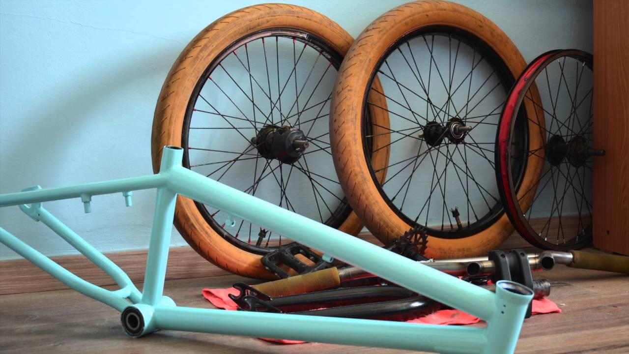 How to Paint a BMX Bike