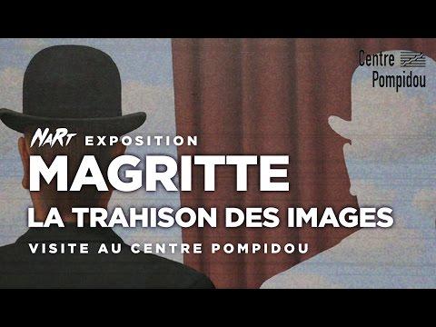 Nom d'une pipe ! Exposition Magritte au Centre Pompidou