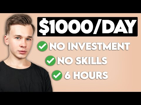 Easy Way To Make $1000 a Day Online For FREE (FAST)