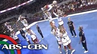 UE Pep Squad as immortal gods in cheerdance tilt