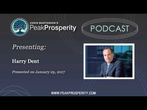 Harry Dent: Stocks Will Fall 70-90% Within 3 Years
