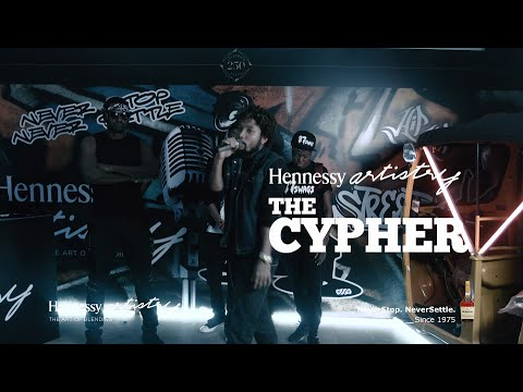 Hennessy Cypher 2016 - BOOGEY x T-REX x DRIS x SAEON