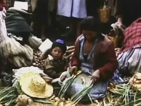 Cusco Peru 1940 y 1950 despues del terremoto