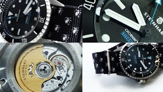 Steinhart Ocean One 500 Titanium Full Review - More Than Another Rolex Submariner Homage?