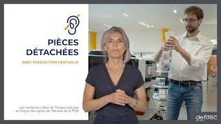 Comment trouver les bonnes pièces détachées pour vos électroménagers - Traduction gestuelle