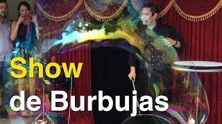 Show de burbujas con el Mago Biondi