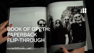 Book Of Opeth: Paperback Flip-Through