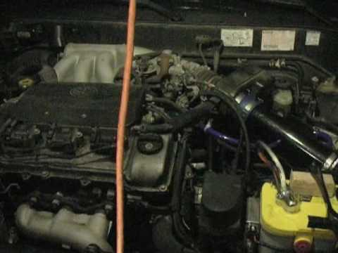 Air Intake Sensor >> 98 Toyota Avalon XLS: Short Ram Air Intake Before & After