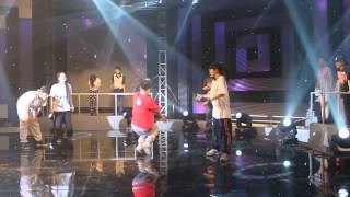 Vũ Điệu Xanh - One Love 2013 | Hiphop Top 4 | Caster & Yuka (X_Clown) vs Capella & Cherry (Destiny)