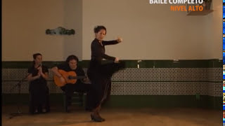 "How to dance ""Alegrias"" - Metodo de Baile Flamenco - from DVD メルセデス・ルイス「アレグリアス」教則"