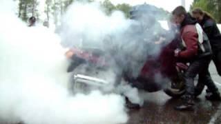 Zlot Kępice 2009, Palenie Gumy -Ladi