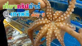 เที่ยวทริปทัวร์ : เกาหลีใต้ ตลาดปลานอร์ยางจิน (Day 3/4)