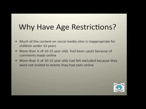 Are your underage children on social media?