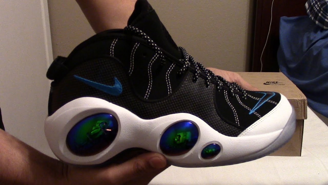 726bb8fbf354 Nike Air Zoom Flight 95 Jason Kidd PE s + On Feet! - YouTube