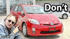 Why Not to Buy a Used Hybrid Car