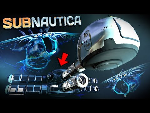 Subnautica - THEY DON'T LIKE ME BEING HERE.. Void Base Expansion: Scanner Room - Subnautica Gameplay