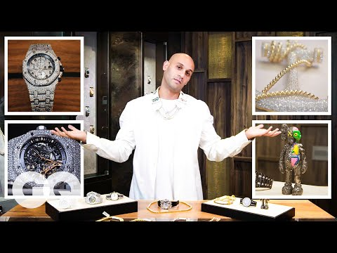 Expert Jeweler Greg Yuna Shows Off His Insane Jewelry Inventory | GQ