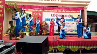Xóm 7 xã Nghi Công Nam đón nhận danh hiệu làng văn hoá.