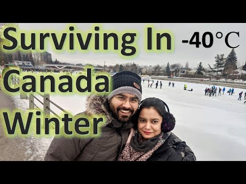 How To Survive In Canada Winter | Winter Shopping Tips And Tricks | Canada Couple Vlogs