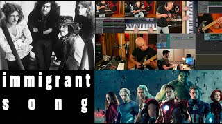 Led Zeppelin's Immigrant Song -Inspired by Thor Ragnarok Marvel Movie (Cover Song, Electronic Music)