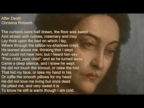 After Death a poem by Christina Rossetti