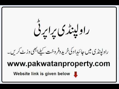 Property for sale in Gulshan-e-Kashmir Rawalpindi
