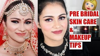 Pre BRIDAL SKINCARE TIPS Complete Guide MAKEUP & Everything For Bride To Be