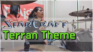 애국가 5절 스타크래프트 테란 테마 드럼 커버 모음