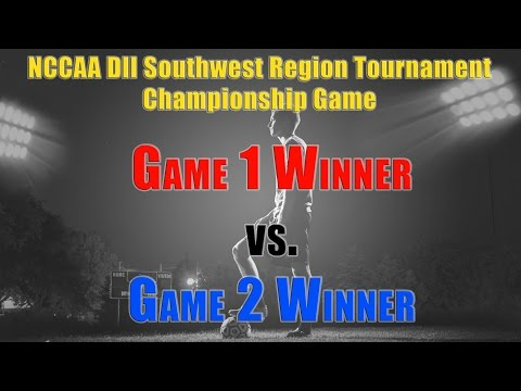 NCCAA DII Southwest Region Soccer Tournament Championship Game - Barclay vs Dallas
