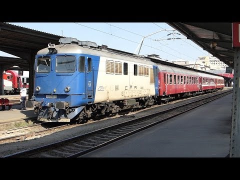 Romanian trains at Bucharest Gara De Nord