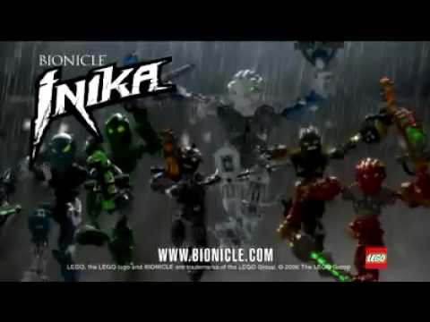 Bionicle Inika Commercial Youtube