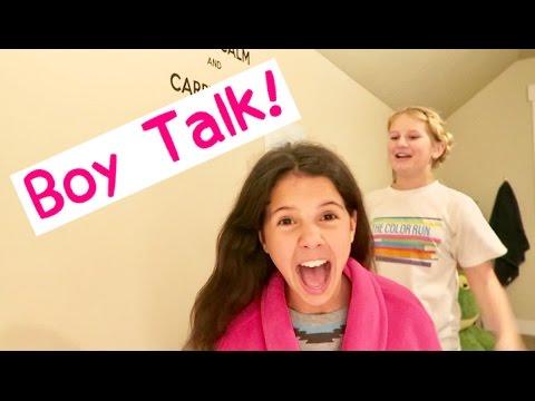 AWKWARD BOY TALK | NIGHT TIME TEEN ROUTINE